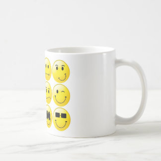 Yellow Smileys Coffee Mug