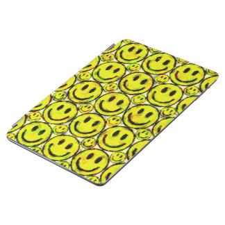 YELLOW SMILEYS iPad AIR COVER