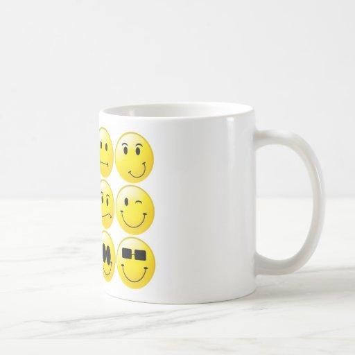 Yellow Smileys Coffee Mug