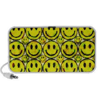YELLOW SMILEYS PC SPEAKERS