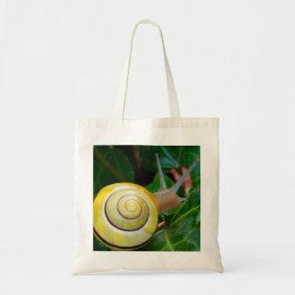 Yellow Snail Photo Bag