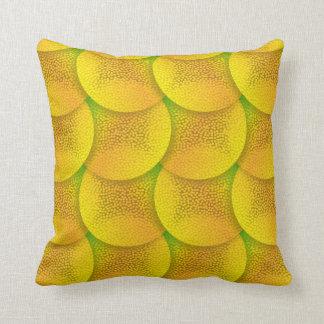 Yellow Soft Cells Cushion
