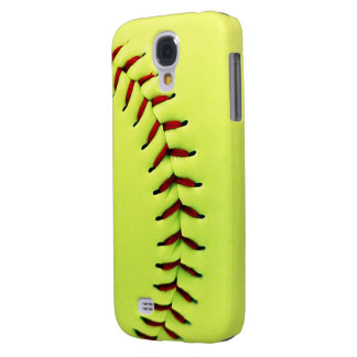 Yellow softball ball galaxy s4 case