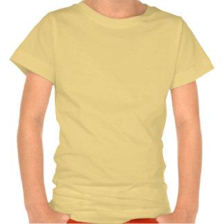 Yellow Sparkle Palm Tree T Shirts