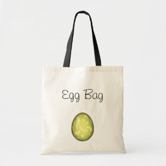 Yellow Speckled Easter Egg - Personalize Budget Tote Bag