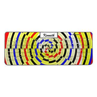 Yellow Spirals by Kenneth Yoncich Wireless Keyboard
