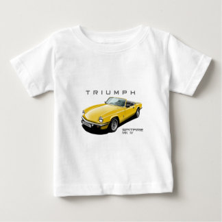 Yellow Spitfire Baby T-Shirt