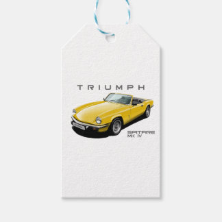 Yellow Spitfire Gift Tags