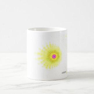 Yellow Splash Coffee Mug