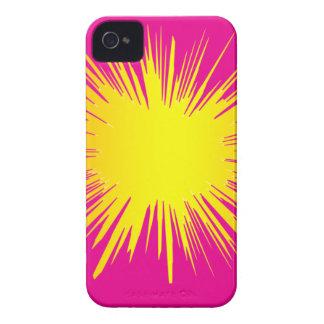 Yellow Splat Phone cover Blackberry Cases