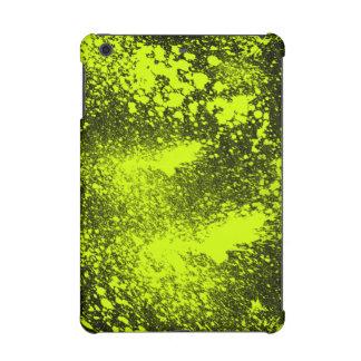 yellow splatter iPad mini retina case