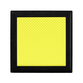 Yellow Spotted Backdrop Gift Box