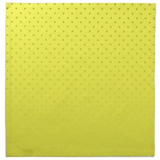 Yellow Spotted Backdrop Napkin
