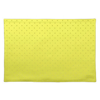 Yellow Spotted Backdrop Placemat