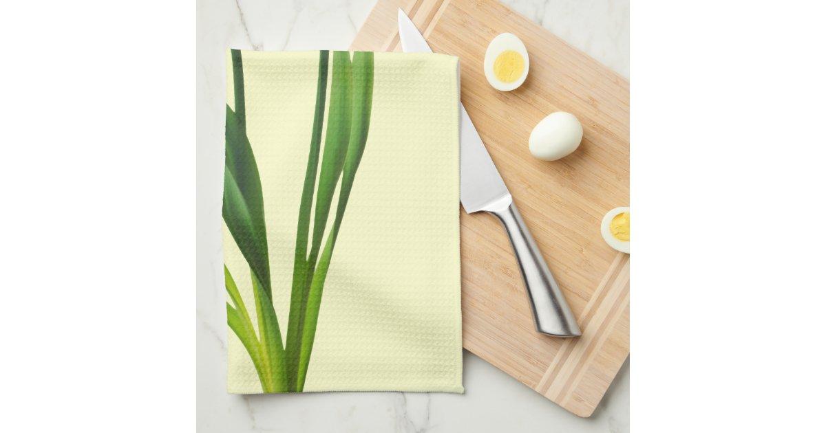 yellow spring daffodils daffodil template tea towel zazzle. Black Bedroom Furniture Sets. Home Design Ideas