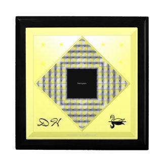 Yellow Spring Pattern (photo) Gift Box