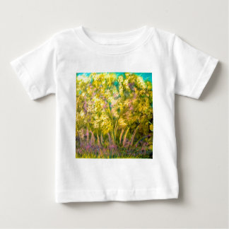 Yellow Spring Trees Design Tshirt