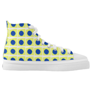 Yellow Star High Tops