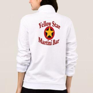 Yellow Star Martini Bar Logo Printed Jackets