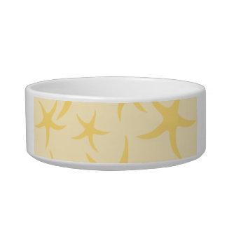 Yellow Starfish Pattern. Bowl