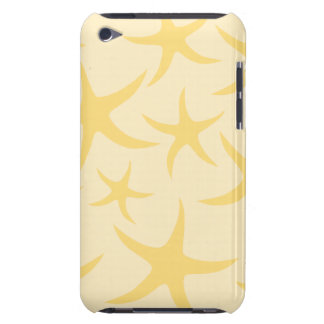 Yellow Starfish Pattern. iPod Case-Mate Case