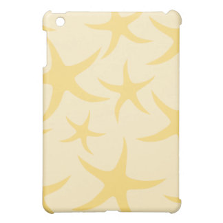 Yellow Starfish Pern. Case For The iPad Mini