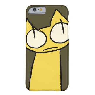 Yellow Staring Cats Barely There iPhone 6 Case