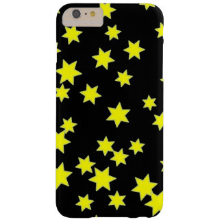 Yellow Stars Barely There iPhone 6 Plus Case