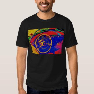 Yellow Steering Wheel T Shirt