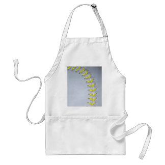 Yellow Stitches Baseball / Softball Aprons