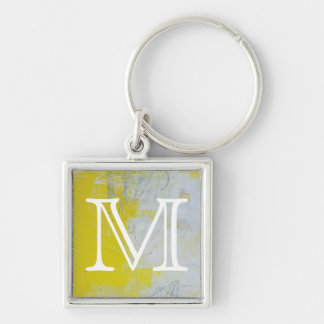 Yellow Stone Key Ring