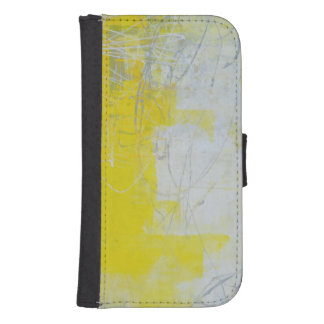 Yellow Stone Samsung S4 Wallet Case
