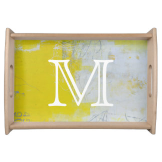 Yellow Stone Serving Tray