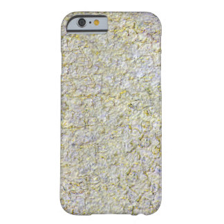 Yellow Stone wall Barely There iPhone 6 Case