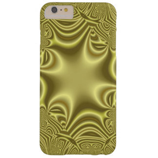 Yellow strange pattern barely there iPhone 6 plus case
