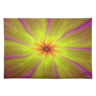 Yellow Streamers Placemats