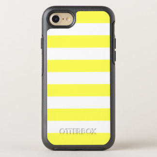 Yellow Stripe OtterBox Symmetry iPhone 7 Case
