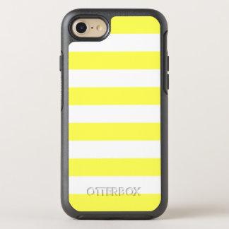 Yellow Stripe OtterBox Symmetry iPhone 8/7 Case