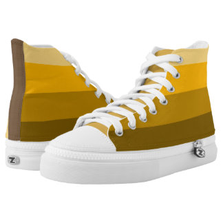 Yellow Stripe Shoes