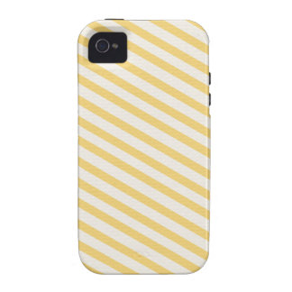 Yellow Stripes Background Vibe iPhone 4 Cover