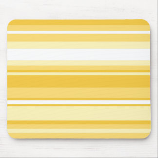Yellow stripes mouse mat