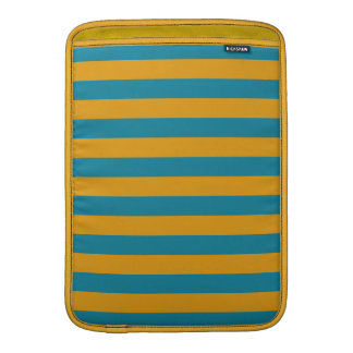 """Yellow Stripes On ANY Color 13"""" MacBook sleeve"""