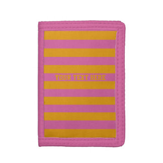 Yellow Stripes On ANY Color custom wallets