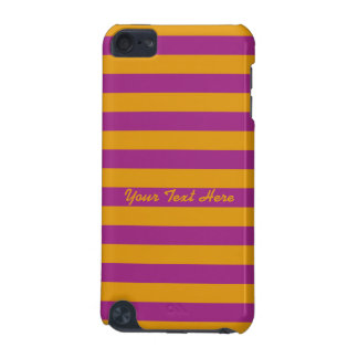 Yellow Stripes On ANY Color iPod Touch case