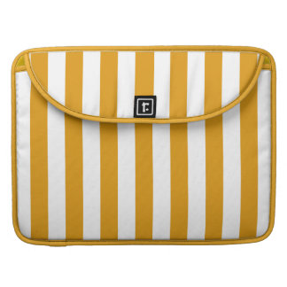 Yellow Stripes On ANY Color MacBook sleeves