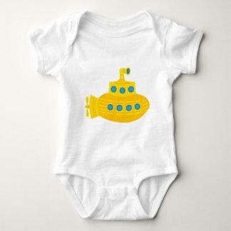 Yellow Submarine Baby Bodysuit