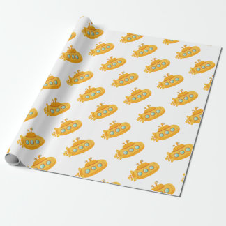 Yellow Submarine Wrapping Paper