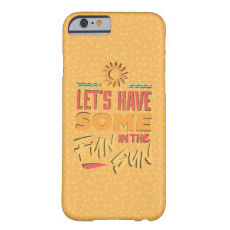 Yellow Summer Fun Case Barely There iPhone 6 Case