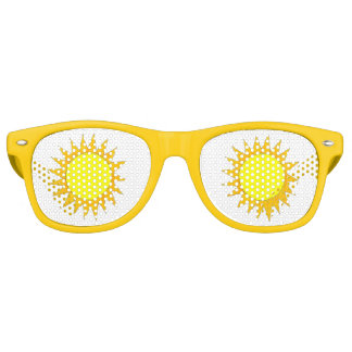 Yellow Sun Sunshine Sunny Suns Beach Party Shades