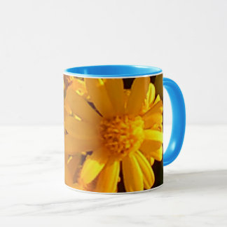 Yellow Sunflower 11 oz Combo Mug